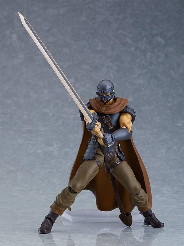 Figurine berserk guts action figure figma collection maxfactory 17cm 4