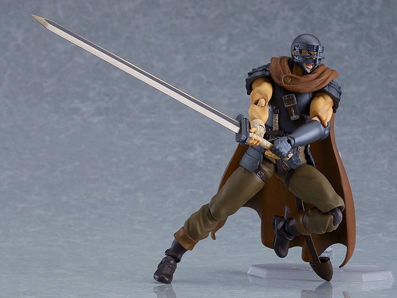 Figurine berserk guts action figure figma collection maxfactory 17cm 5