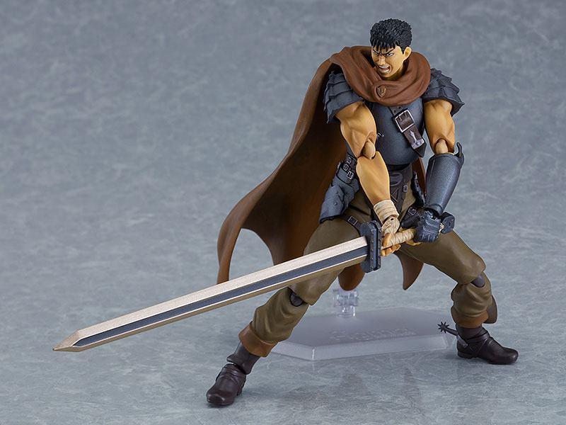Figurine berserk guts action figure figma collection maxfactory 17cm 6