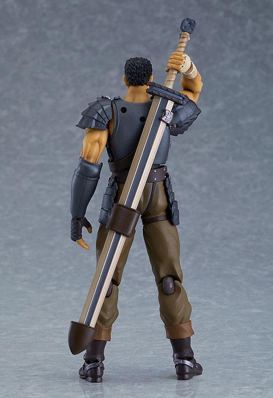 Figurine berserk guts action figure figma collection maxfactory 17cm 7
