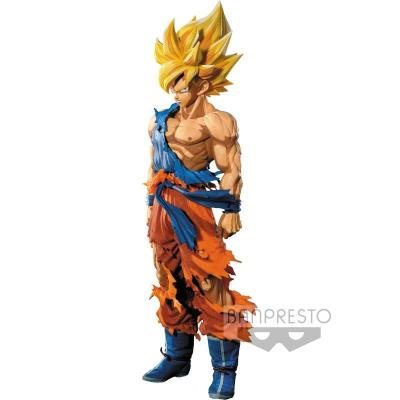 Figurine dragon ball z super master stars piece the son goku manga dimensions