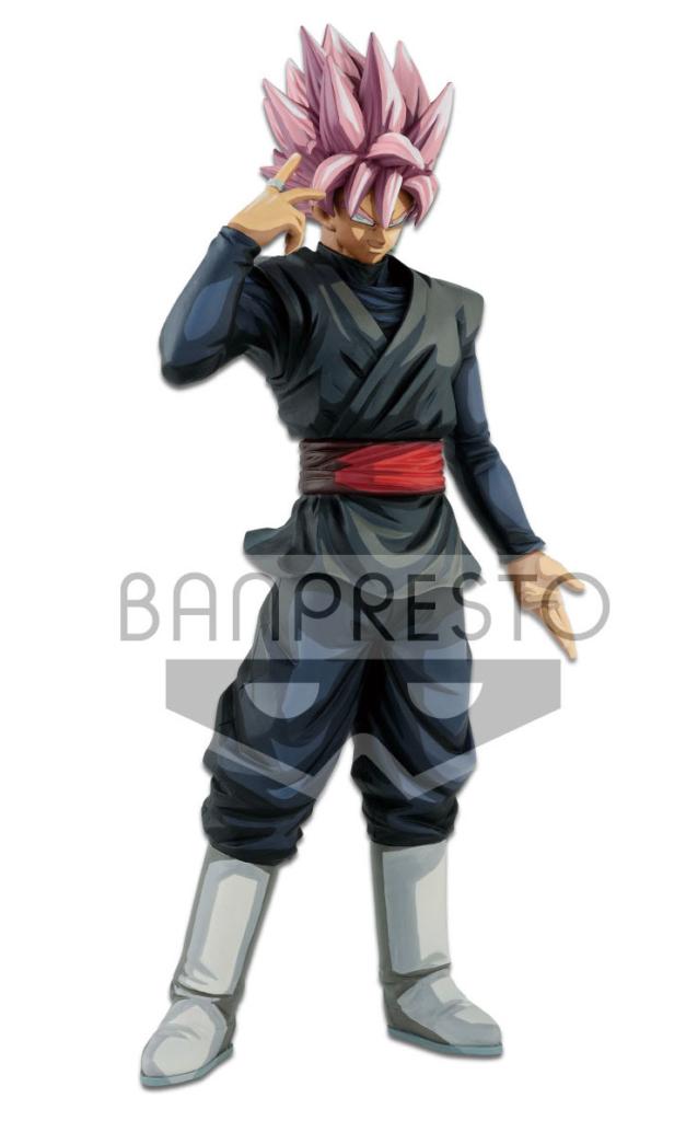 Figurine grandista manga dimension black goku super saiyan rose