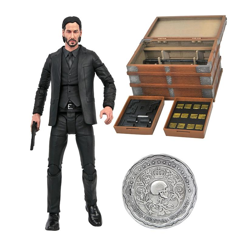 Figurine john wick chapter 2 action figure