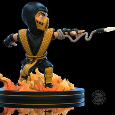 Figurine Mortal Kombat diorama Q-Fig Scorpion 10 cm