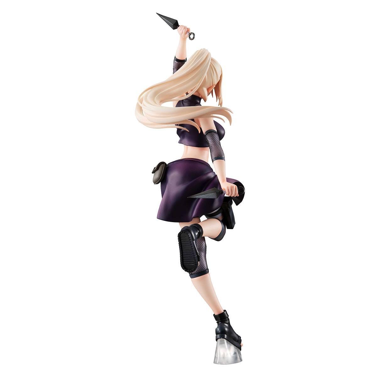 Figurine naruto ino yamanaka 21 cm statuette galsmegahouse 3