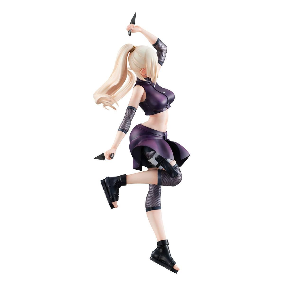 Figurine naruto ino yamanaka 21 cm statuette galsmegahouse 4
