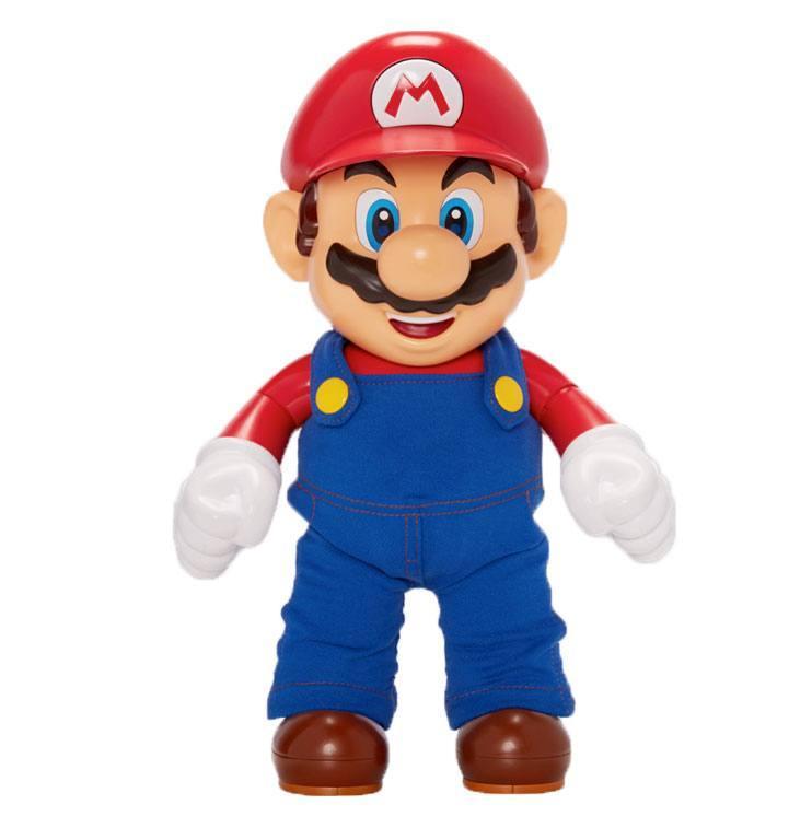 Figurine parlante mario 30cm nintendo jakks pacific suukoo toys
