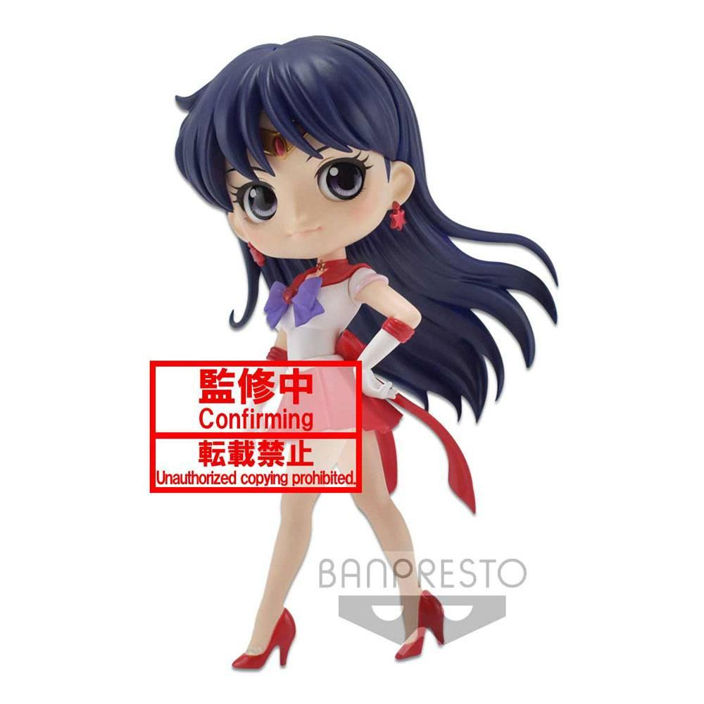 Figurine q posket super sailor mars ver a 1