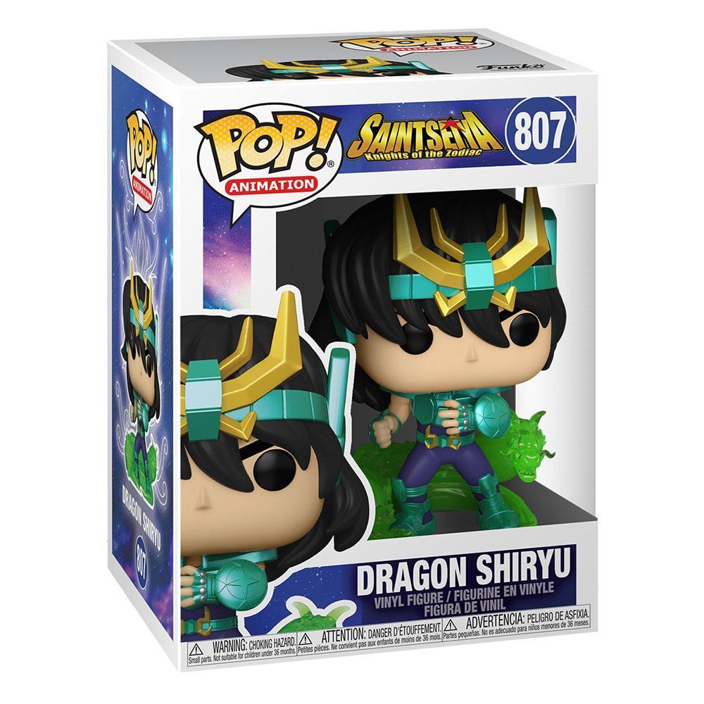 Figurine shiryu saint seiya dragon pop