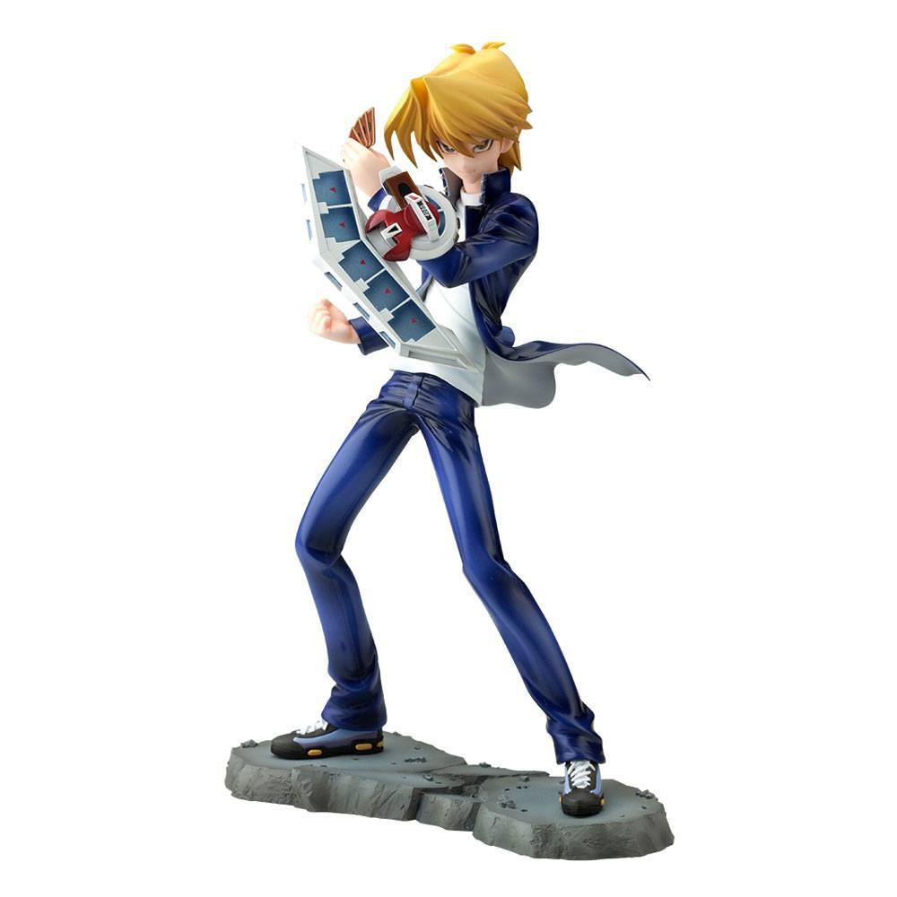 Figurine suukoo toys yu gi oh statuette pvc artfxj 17 joey wheeler 24 cm