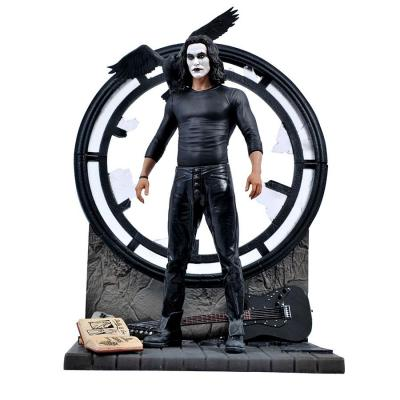 Figurine The Crow gallery pvc statuette Eric Draven diamond select toys