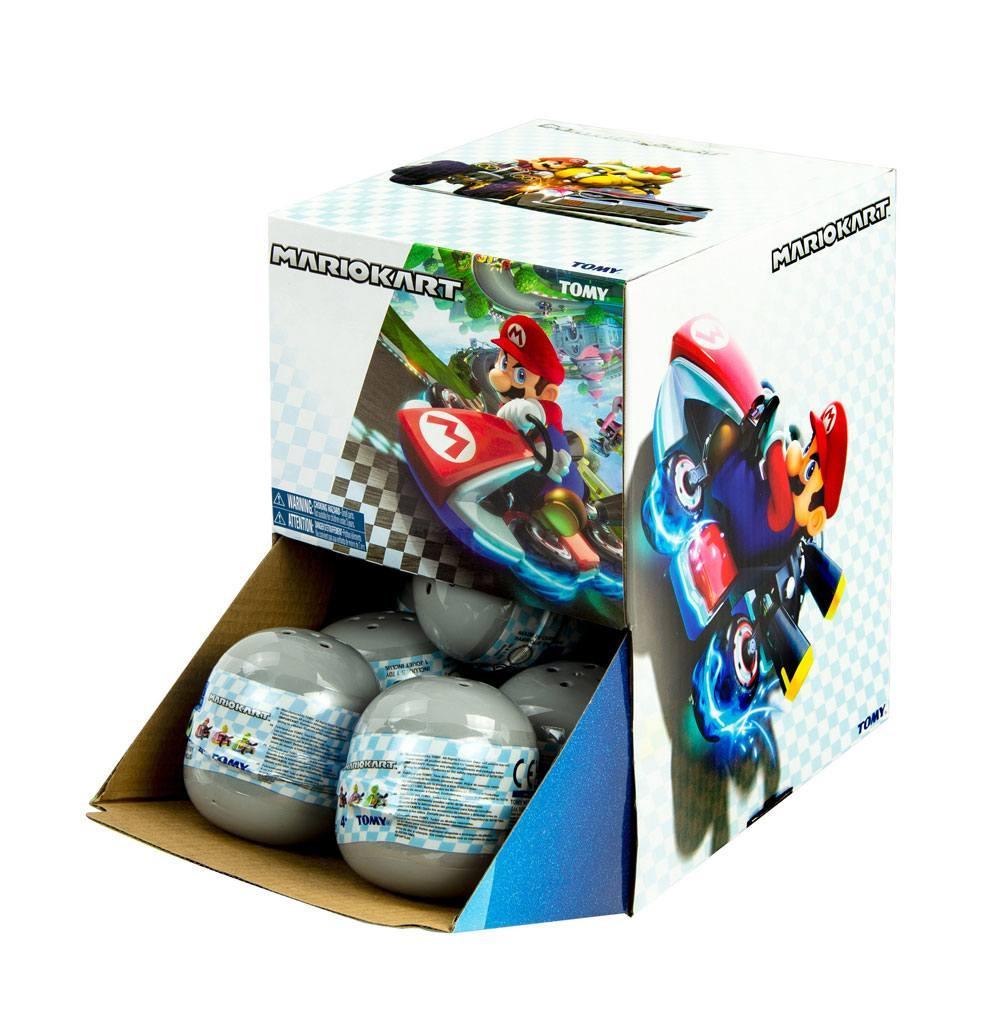 Figurine voiture super mario kart tomy suukoo toys 1