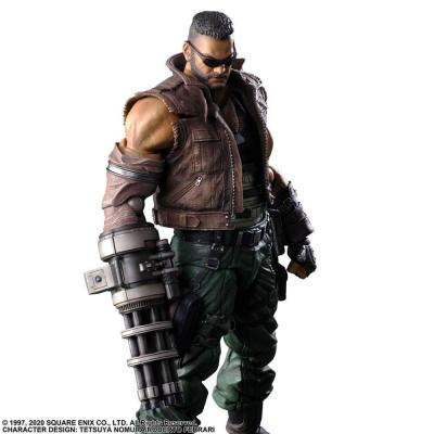 Final Fantasy VII Remake Play Arts Kai figurine Barret Wallace Ver. 2 28 cm