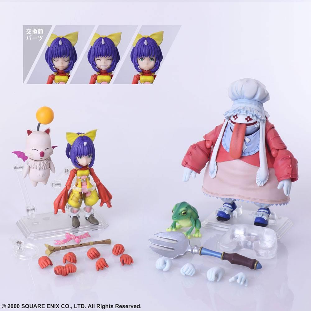 Final fantasy ix figurines bring arts eiko carol quina quen 2