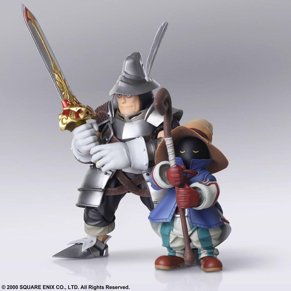 Final fantasy ix figurines bring arts vivi ornitier adelbert steiner 10 15 cm