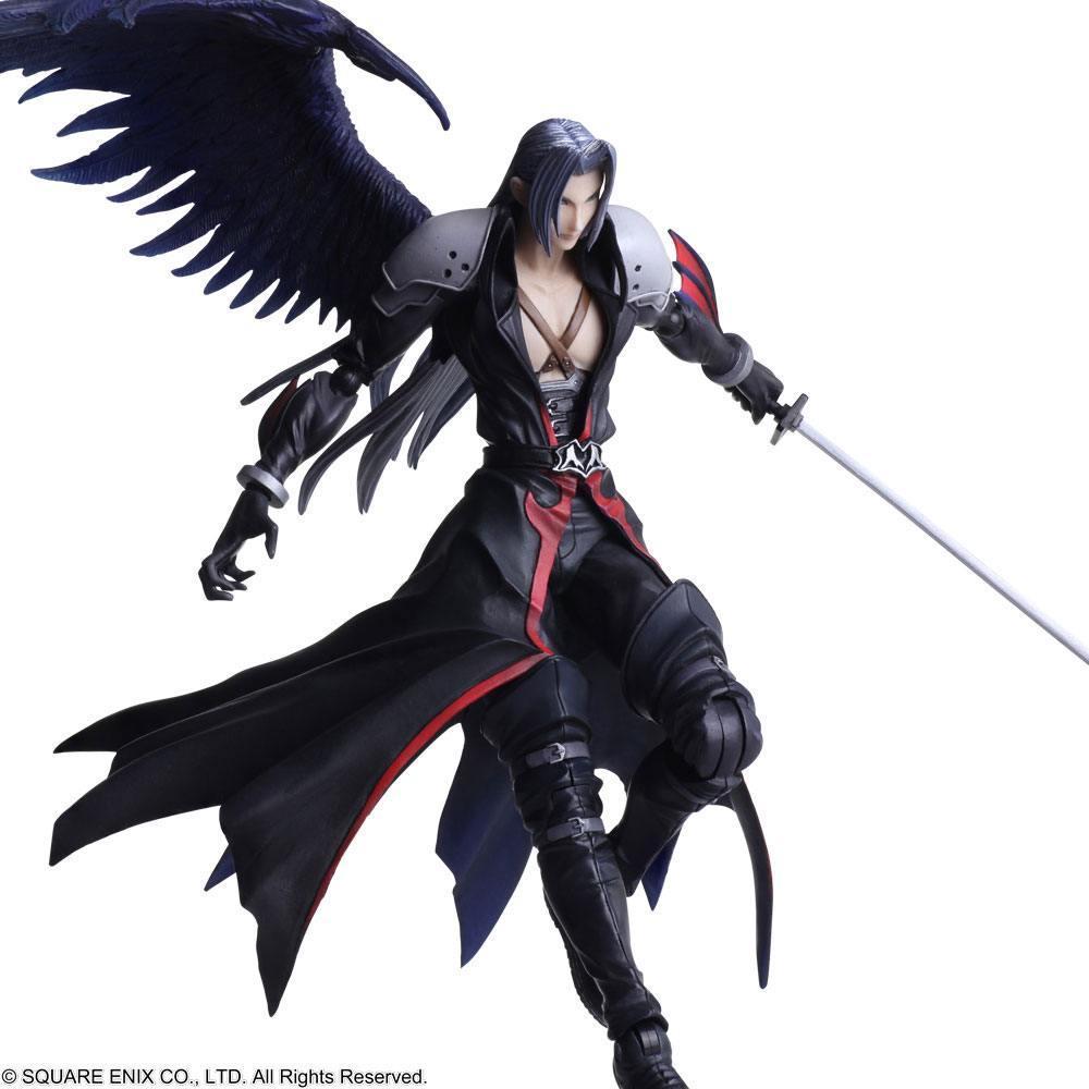 Final fantasy vii figurine bring arts sephiroth another form ver 18 cm 6