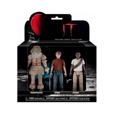 It 2017 Movie Pack Action Figure 3 Pennywise / Stan / Mike Funko