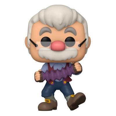 Pinocchio 80th Anniversary POP! Disney Figurine Geppetto W/Accrdion 9 cm