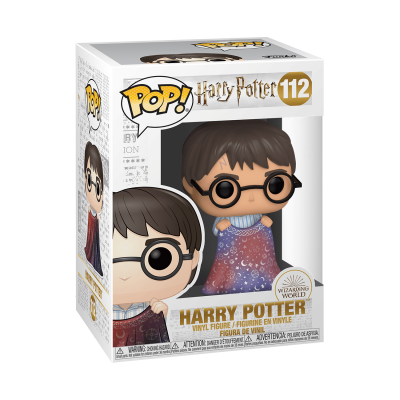 Funko pop harry potter cape invisibilite