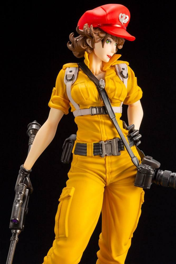 G i joe bishoujo statuette pvc 17 lady jaye canary ann color version 23 cm 2