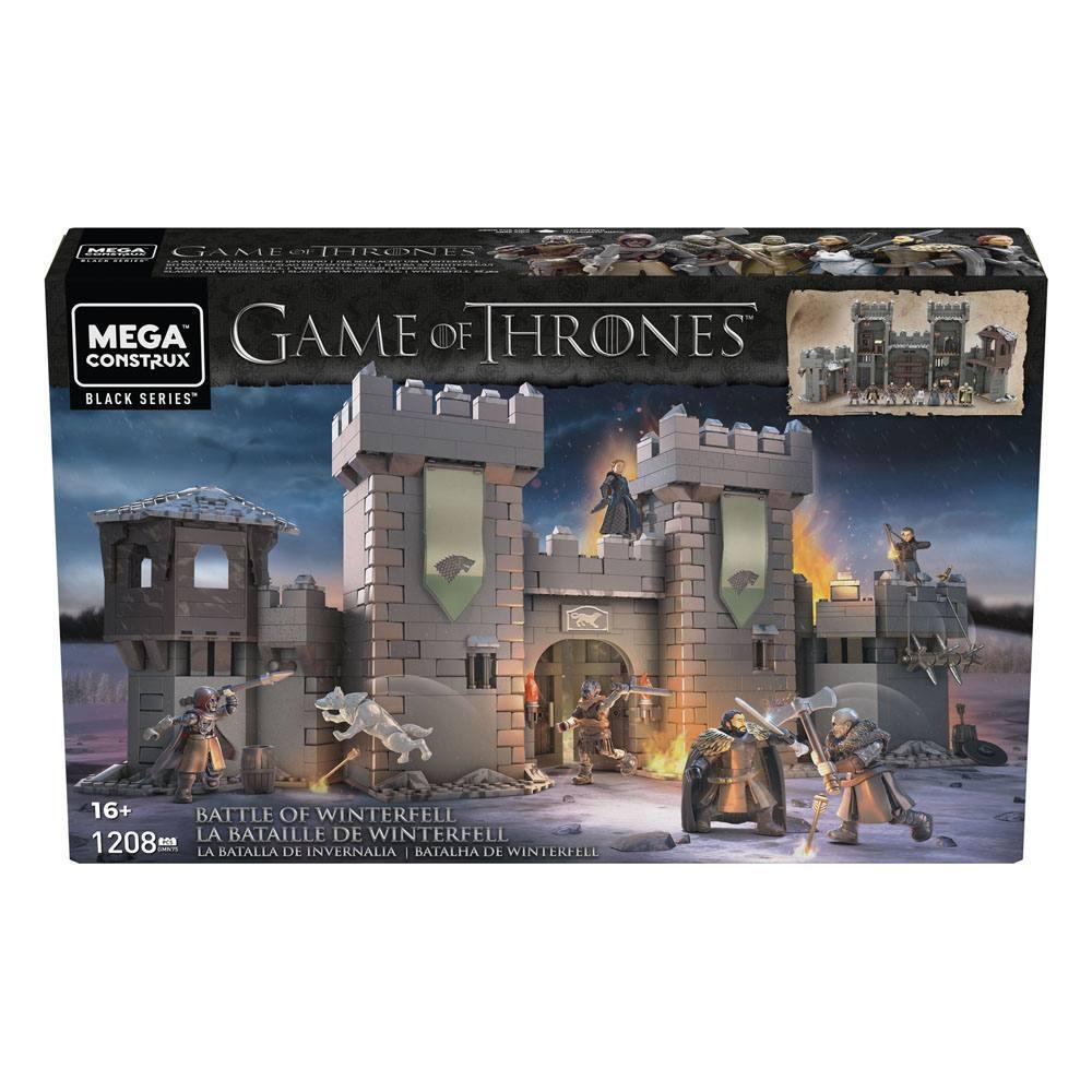 Game of throne megacontruction jeu figurines mattel