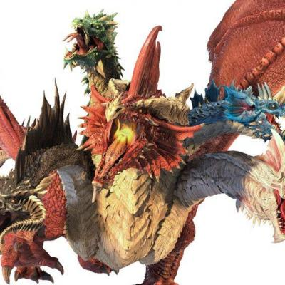 Dungeons & Dragons Icons of the Realms miniature Premium prépainte Gargantuan Tiamat 37 cm