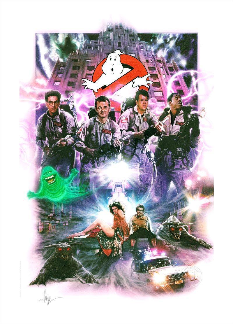 Ghostbusters sos fantomes art print numerique suukoo toys 1