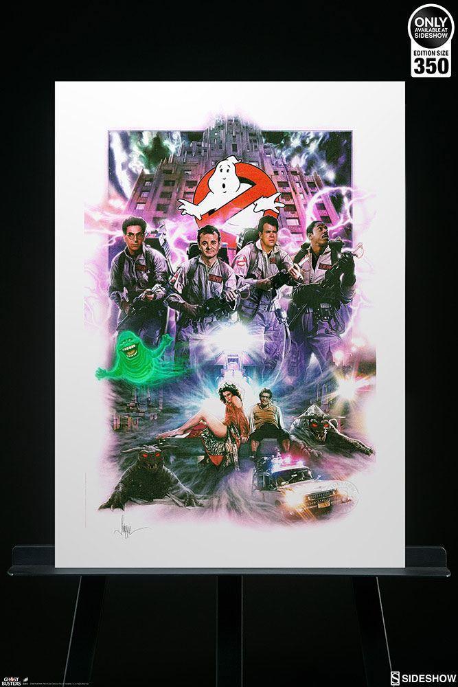 Ghostbusters sos fantomes art print numerique suukoo toys 5