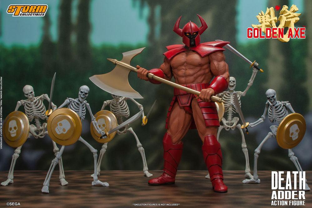 Golden axe figurine death adder 26cm storm collectibles suukoo toys 10