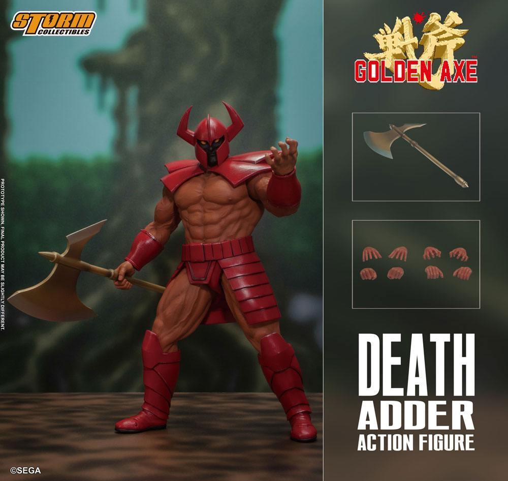 Golden axe figurine death adder 26cm storm collectibles suukoo toys 11