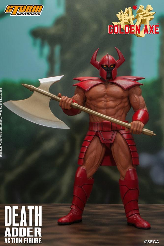 Golden axe figurine death adder 26cm storm collectibles suukoo toys 12