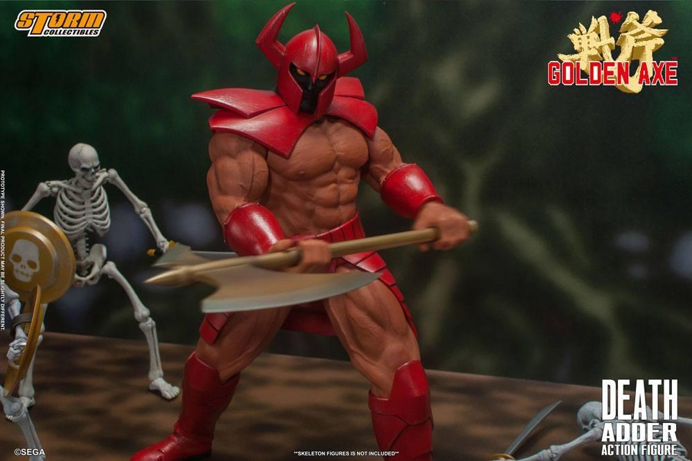 Golden axe figurine death adder 26cm storm collectibles suukoo toys 2