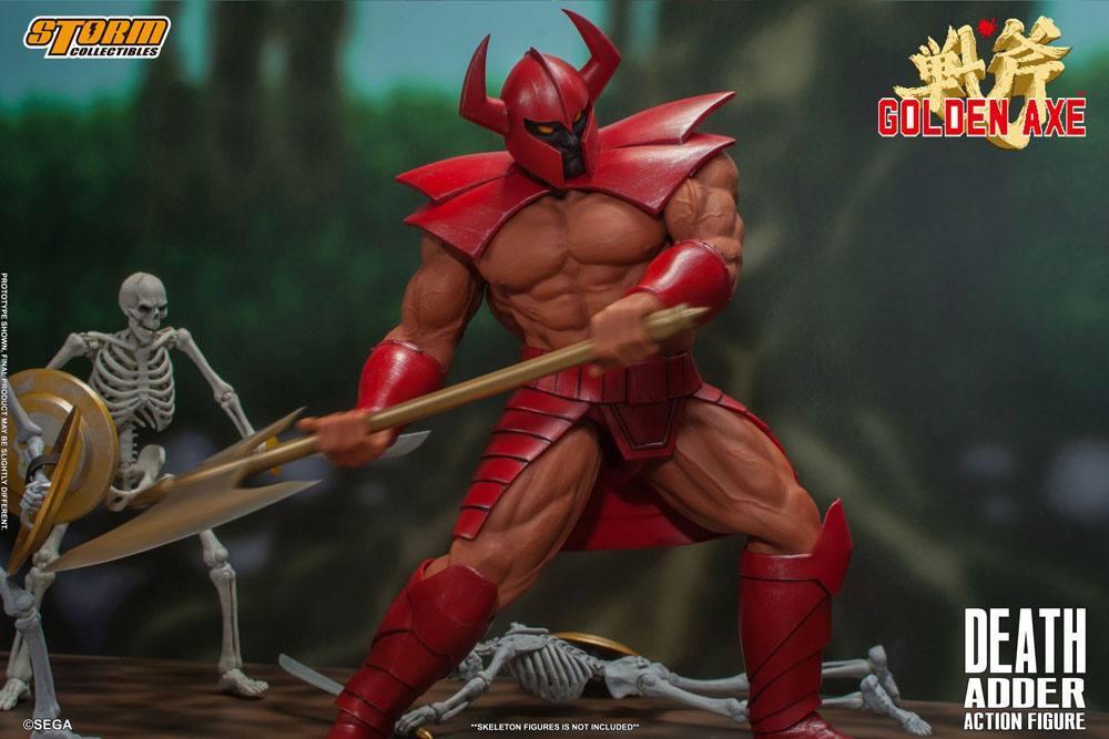 Golden axe figurine death adder 26cm storm collectibles suukoo toys 3