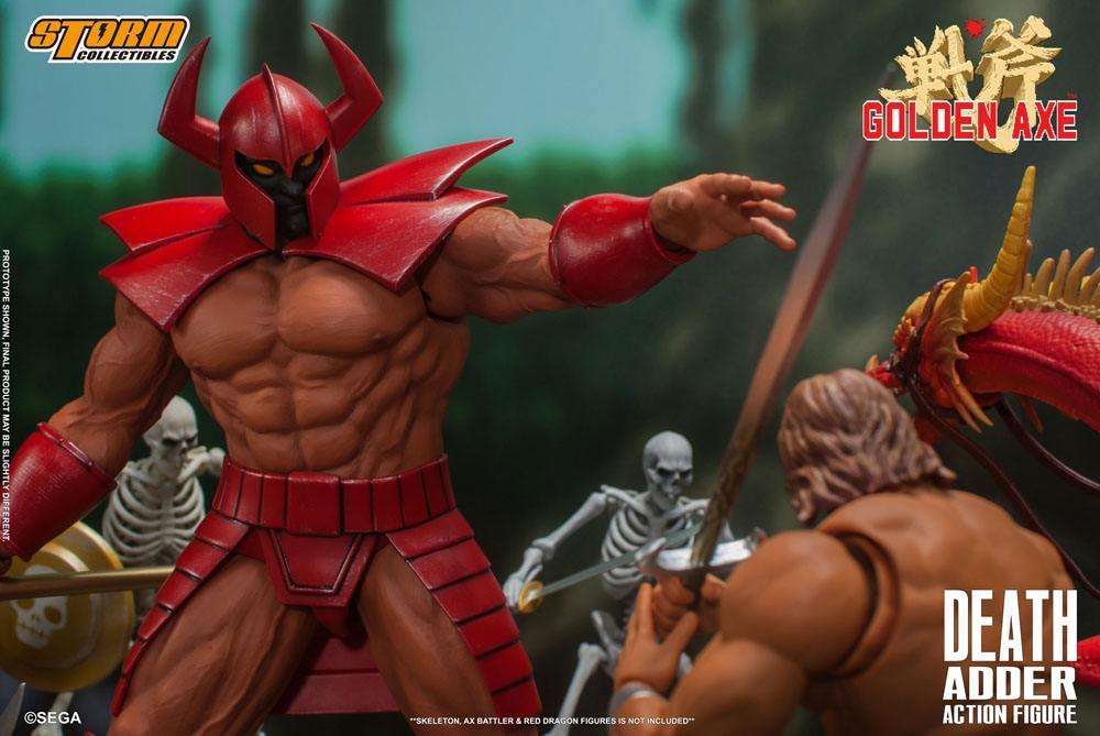 Golden axe figurine death adder 26cm storm collectibles suukoo toys 4