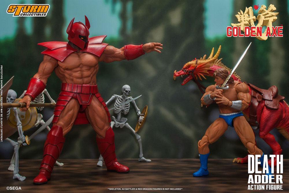 Golden axe figurine death adder 26cm storm collectibles suukoo toys 5