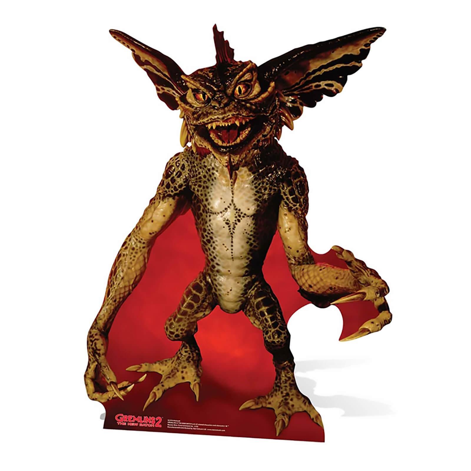 Gremlins evil mohawk 126cm cutout silhouette chevalet