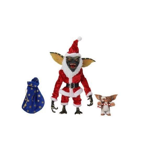 Gremlins pack 2 figurines santa stripe gizmo 18 cm neca30709