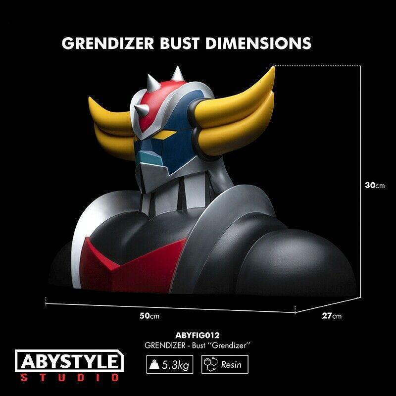 Grendizer buste resine goldorak abystyle suukoo toys figurine collector 1