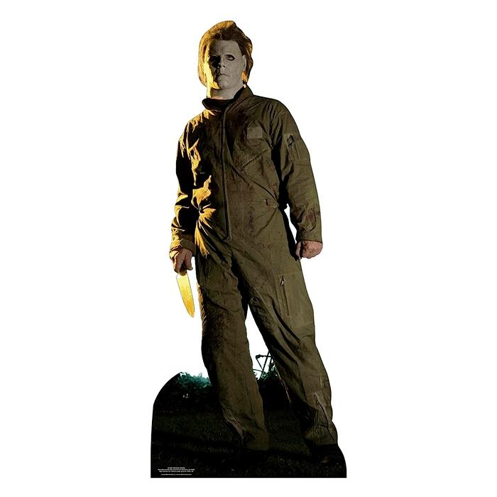 Halloween michael meyers 188cm cutout silhouette chevalet