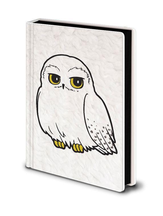 Harry potter carnet de notes premium a5 hedwig fluffy
