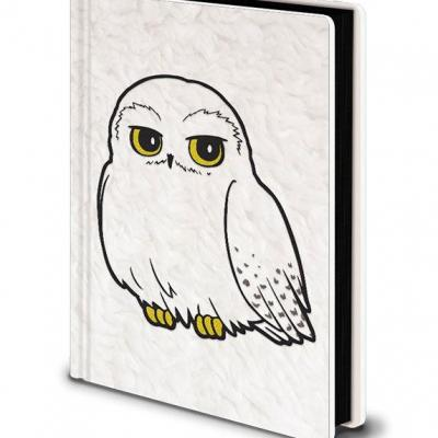 Harry Potter carnet de notes Premium A5 Hedwig Fluffy
