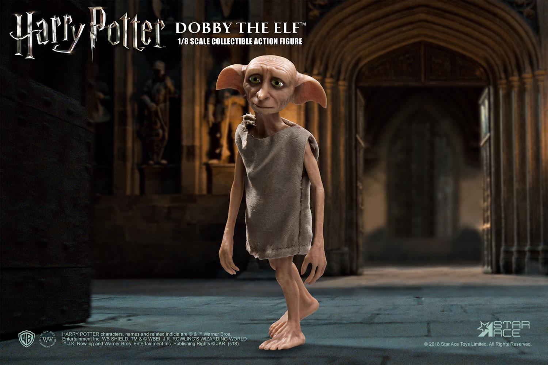Harry potter et la chambre des secrets figurine real master series dobby 1