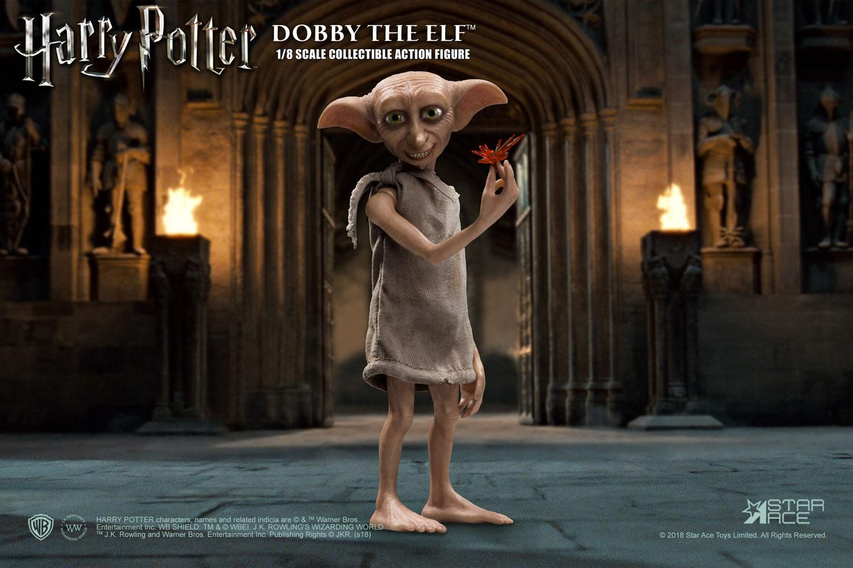 Harry potter et la chambre des secrets figurine real master series dobby 2