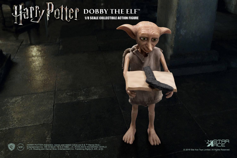 Harry potter et la chambre des secrets figurine real master series dobby 3