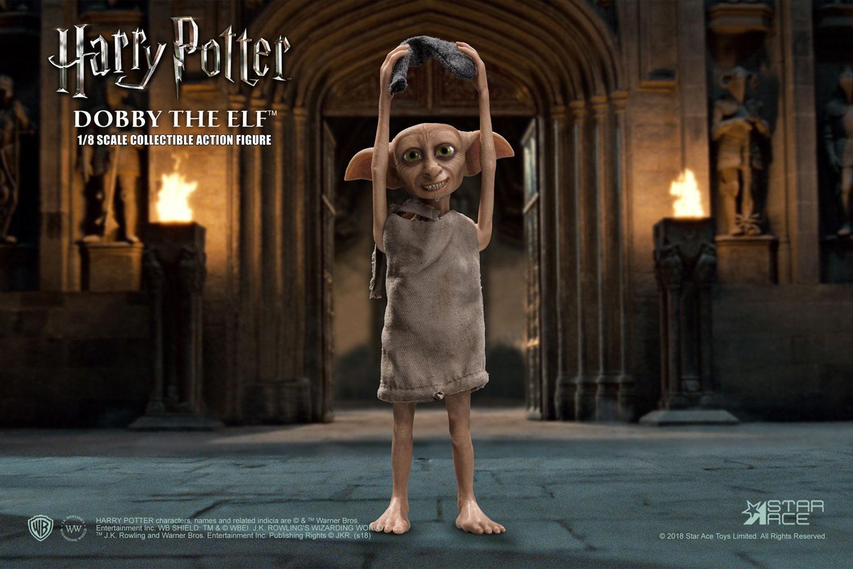 Harry potter et la chambre des secrets figurine real master series dobby 4