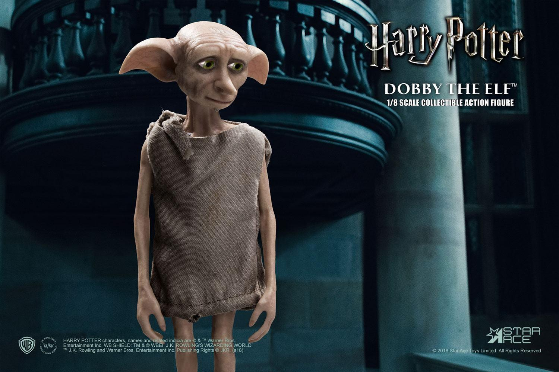 Harry potter et la chambre des secrets figurine real master series dobby 5