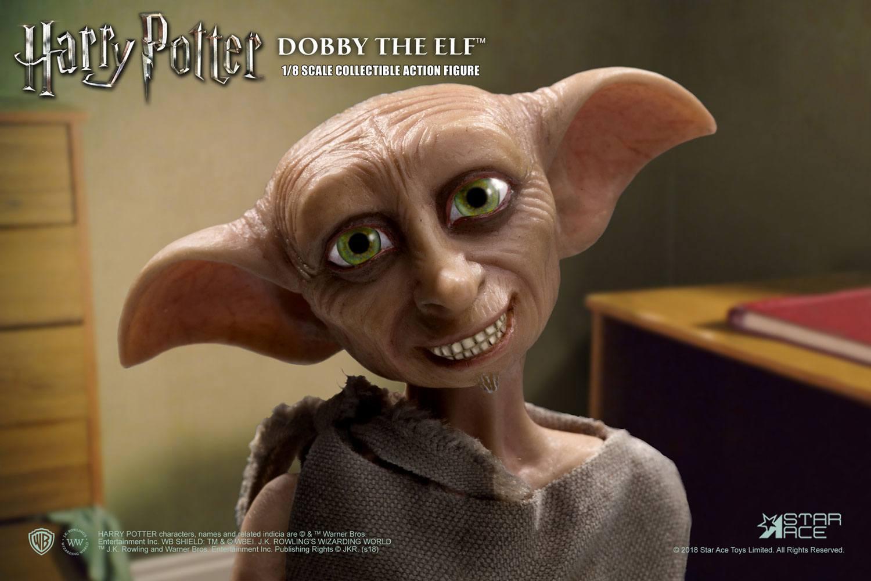 Harry potter et la chambre des secrets figurine real master series dobby 6