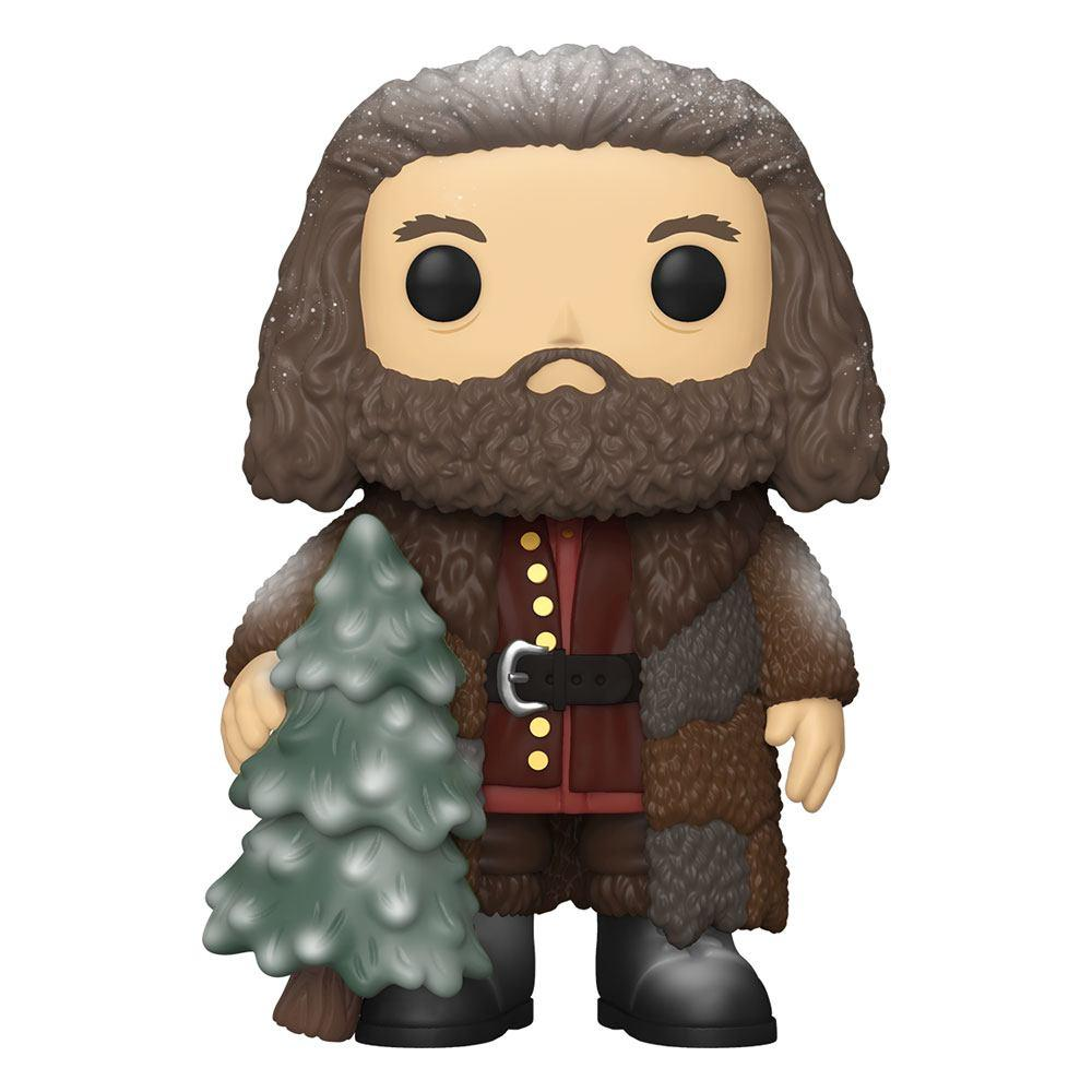 Harry potter figurine super sized pop vinyl holiday rubeus hagrid 15 cm 1