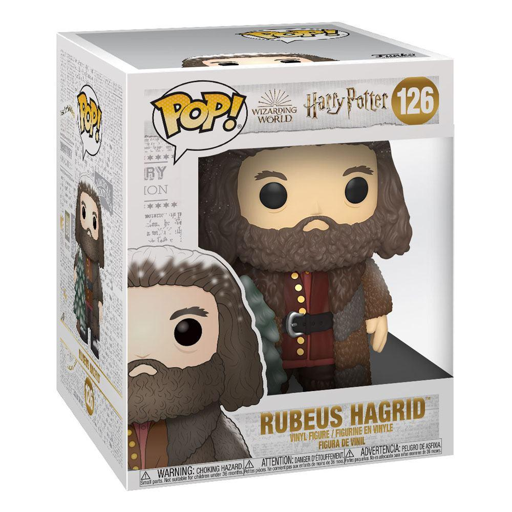 Harry potter figurine super sized pop vinyl holiday rubeus hagrid 15 cm 2