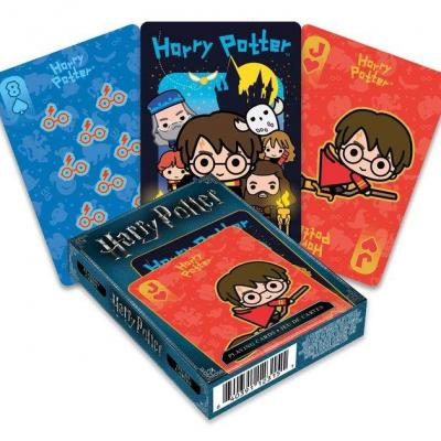 Harry Potter jeu de cartes à jouer Chibi
